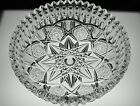 SUPER ABP CUT GLASS CRYSTAL BOWL SIGNED LIBBEY