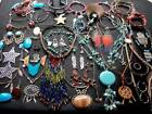 LOT OF VINTAGE NOW COSTUME JEWELRY SOUTHWEST INSPIRED UNIQUE PIECES VARIETY