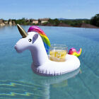 Inflatable Unicorn Cup Holder Pool Lilo Party Drink Float Funny Bathing Toy