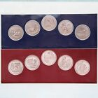 2017 P D America The Beautiful Parks Quarter Set US Mint Cello BU 10 Coin Set