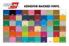 Oracal 631 Adhesive Backed Vinyl 12 in x 10 ft Roll 60 Colors to choose from
