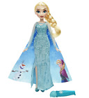 NEW DISNEY ELSA MAGICAL STORY CAPE PRINCESS DOLL CHILDREN PLAY ENTERTAINMENT TOY