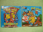 PAC-MAN Book + Record SET OF TWO Kid Stuff VINTAGE 1980 BALLY MIDWAY Arcade Game
