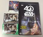 2017 Topps Star Wars 40th Anniversary complete base & green sets - (300) w Box