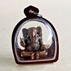 GANESHA Elephant Lord Of Success THAI AMULET BRASS LUCK RICH BLESS Holy Pendant