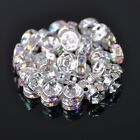 Wholesale Czech Crystal Rhinestone Rondelle Loose Spacer Beads 45681012mm