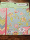 K  Co Wild Raspberry 85 x 85 double sided card stock scrapbook paper pad