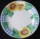 3 CORELLE SUNSATIONS SALAD PLATES SUNFLOWER