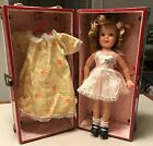 Vintage Ideal Shirley Temple Doll ST-12 With Tagged Clothes Shoes Carrying Case