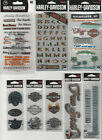 U CHOOSE Assorted HARLEY DAVIDSON Stickers  Embellishments logos phrases