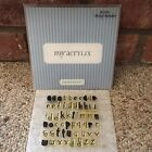 Close To My Heart Acrylix B1074 Boing Alphabet Acrylic Stamp Set CTMH Letters