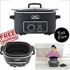 Slow Cooker 3 in 1 Ninja Cooking System Pot Non Stick Oven Triple Fusion Heat