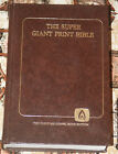THE SUPER GIANT PRINT BIBLE THE OLD TIME GOSPEL HOUR EDITION 1983