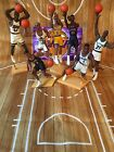 (7) 1997 Open Loose NBA Basketball Starting Lineup Figures With Cards SLU Kenner