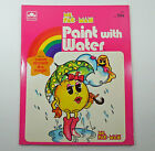 Ms. Pac-Man Paint With Water Coloring Book Whitman 1982 Unused