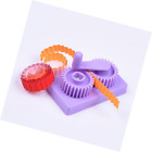 BCP Purple Hand operated Quilling Crimper Paper Slip Wave Shape Making Tool Qu