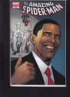 MARVEL COMICS THE AMAZING SPIDER MAN 583 OBAMA 5TH PRINTING VARIANT EDITION