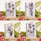 New Baby DIY Drawing Education Flower Grass Clear Rubber Stamp Cling Scrapbook