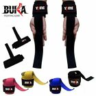 BUKA WEIGHT LIFTING STRAPS BODY BUILDING WRIST BAR SUPPORT CAMO 4 COLOUR NEW