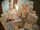 Large lot of Heidi Grace Day Dream Believer 12 x 12 paper  embellishments