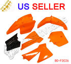 KTM50 KTM SX 50 JUNIOR 50CC SX FENDER PLASTIC ORANGE BLACK WHITE