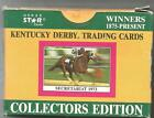 1990 Horse Star Cards Kentucky Derby Trading Cards Complete 3 Series Set In Box