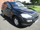 SSANGYONG KYRON 20 TD S 5dr 4X4 DIESEL LOW MILES TOW BAR LONG MOT ROOF BARS