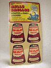 Sealed Vintage MELLO SMELLOS Scratch  Smell Stickers Raspberry Hot Coco