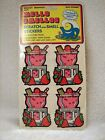 Sealed Vintage MELLO SMELLOS Scratch  Smell Stickers Strawberry Baby Powder