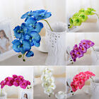 Home Wedding Artificial Fake Silk Flower Phalaenopsis Butterfly Orchid Decor