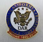 Daughters of the American Revolution DAR 107th State Conference California Pin