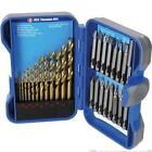 Titanium-Coated HSS Drill Bit & CRV Screwdriver Bit Set 29pce
