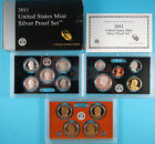 2011 United States Mint SILVER Proof 14 Coin Set w Original Box