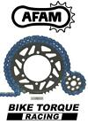 Gas Gas 125 MC Cross 2002 AFAM Upgrade Blue Chain And Sprocket Kit