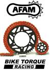 Gas Gas 125 MC Cross 2002 AFAM Upgrade Orange Chain And Sprocket Kit