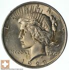 Choice High Grade 1923 Peace Silver Dollar 90 Silver 789
