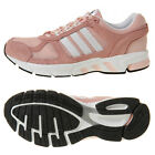 Adidas Womens Equipment 10 Running Shoes BW1283 Suede Sneakers Trainers Pink