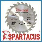 Spartacus Wood Saw Blade 136mm x 24 Teeth x 20mm Fits Various Makita Models