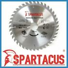 Spartacus Wood Cutting Circular Saw Blade 190mm x 40 Teeth x 30mm Various Models