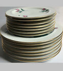 14-pc Radiance by Easterling 7 Salad Plates and 7 Bread Plates Pink Rose PDP16