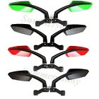 New Universal 8mm 10mm Scooter Rearview Mirrors Pair Moped ATV Motorcycle Backup