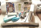Nintendo Wii Console with Balance Board Biggest Loser Fit Plus More Ready to Go