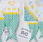 New Baby Mermaid Gift packaged shower present girl Outfit newborn boutique 0 12