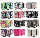 Thirty one Medium Large Utility Tote Bag 31 gift beach storage island damask