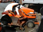 1998 Kubota G1900 18hp diesel lawn tractor with 60 mid mounted mower