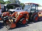 2013 Kubota B3000HSDC 30hp 4wd CAB tractor with LA402 front loader