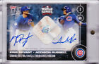 2016 Topps NOW BR-C Kris Bryant Addison Russell Autograph World Series Base 49