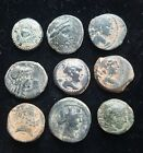 Center Authentic Ancient Greek Coin Group 1