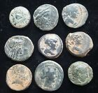 Middle Left Authentic Ancient Greek Coin Group 1