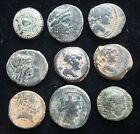 Bottom Middle Authentic Ancient Greek Coin Group 1